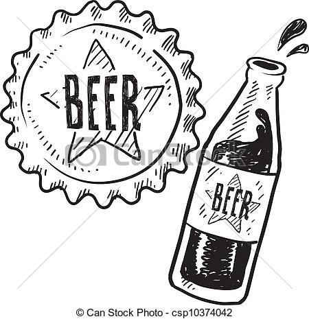 450x465 Bottle Cap Line Drawing Line Art, Eps Picture, Pictures