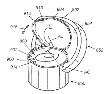 350x306 Bottle Cap Related Patent Applications