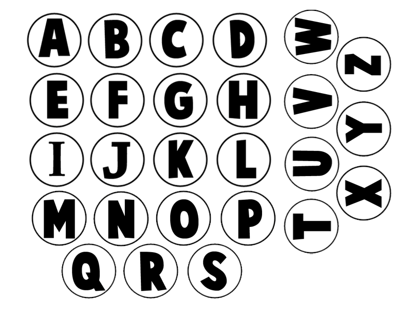 792x612 Making An Alphabet Letters Memory Game From Milk Jug Caps