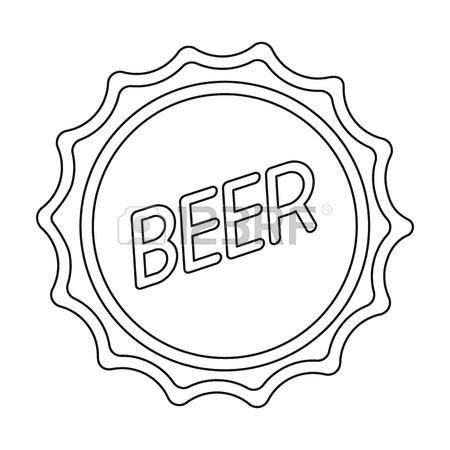 450x450 Metal Beer Cap.lid For Closing Bottles Pub Single Icon