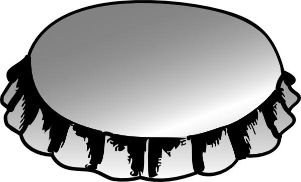 600x363 Bottle Cap Clip Art Free Vector In Open Office Drawing Svg ( Svg