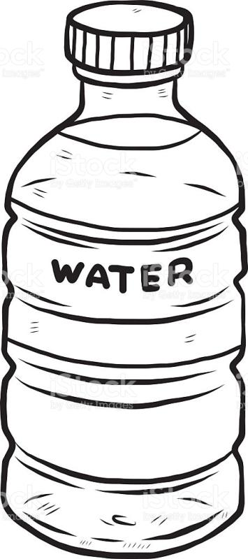355x800 Water Clipart Black And White