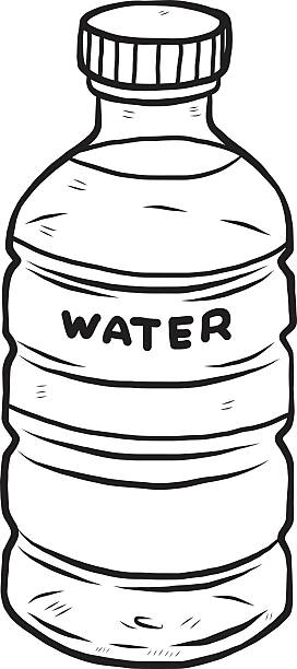 272x612 Bottled Water Clipart Black And White