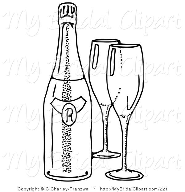 600x620 Alcohol Clipart Wedding Wine Glass