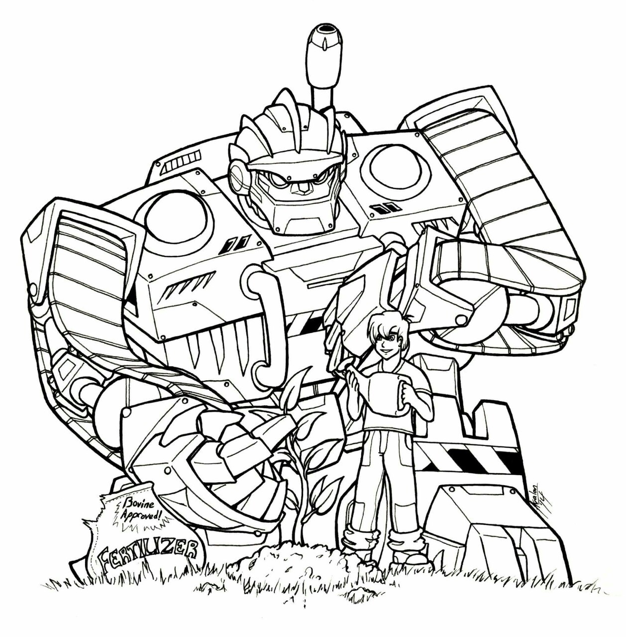 1258x1280 Precision Scribbles Some More Rescue Bots Fan Art, With Boulder