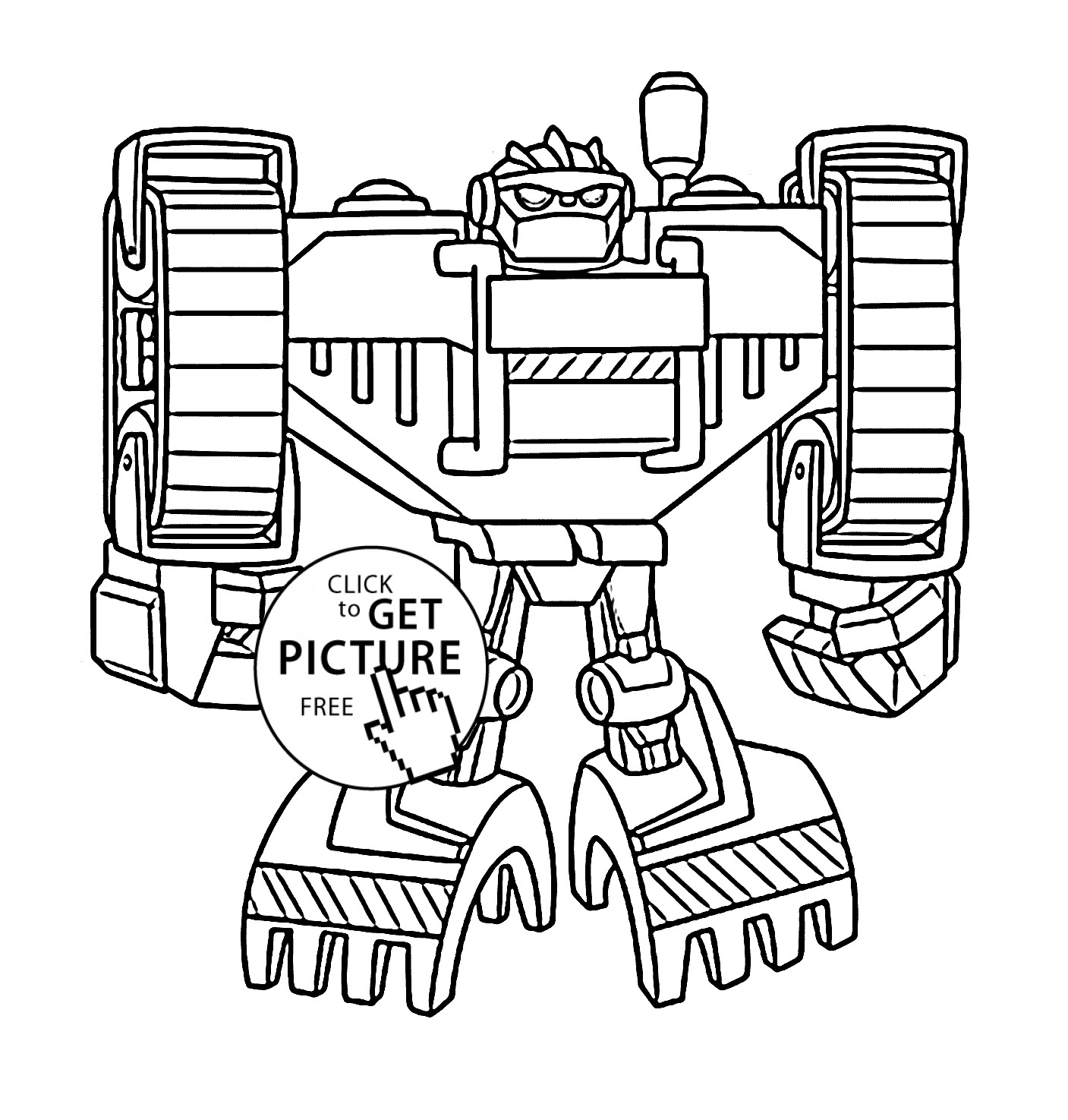 1407x1475 Rescue Bots Coloring Pages To Print Best Of Boulder Bot Coloring