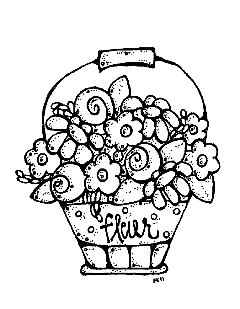 765x985 Bouquet Clipart Flower Drawing