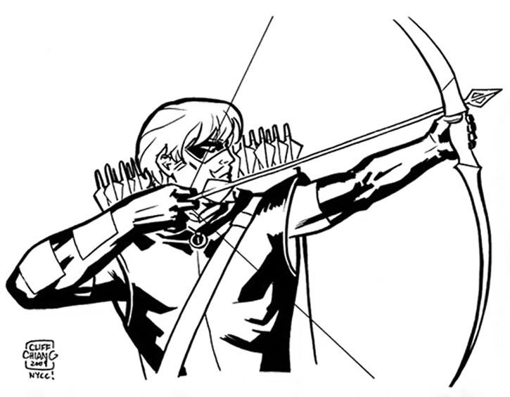 725x565 Green Arrow Dc Comics Chiang H