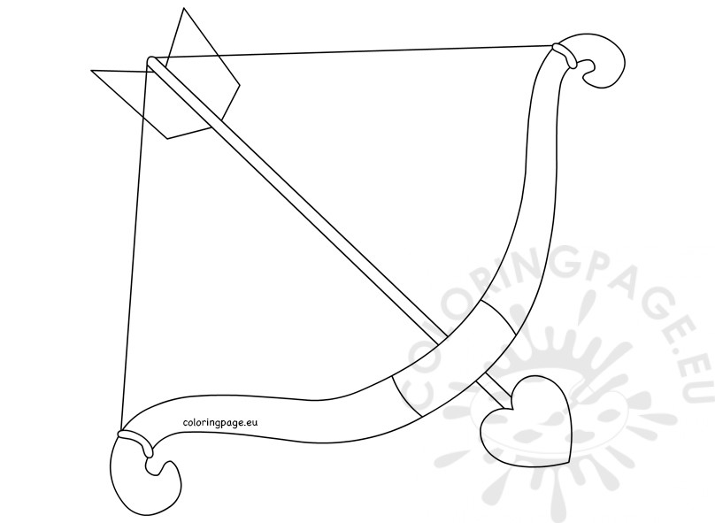 808x591 Bow Arrow Coloring Pages
