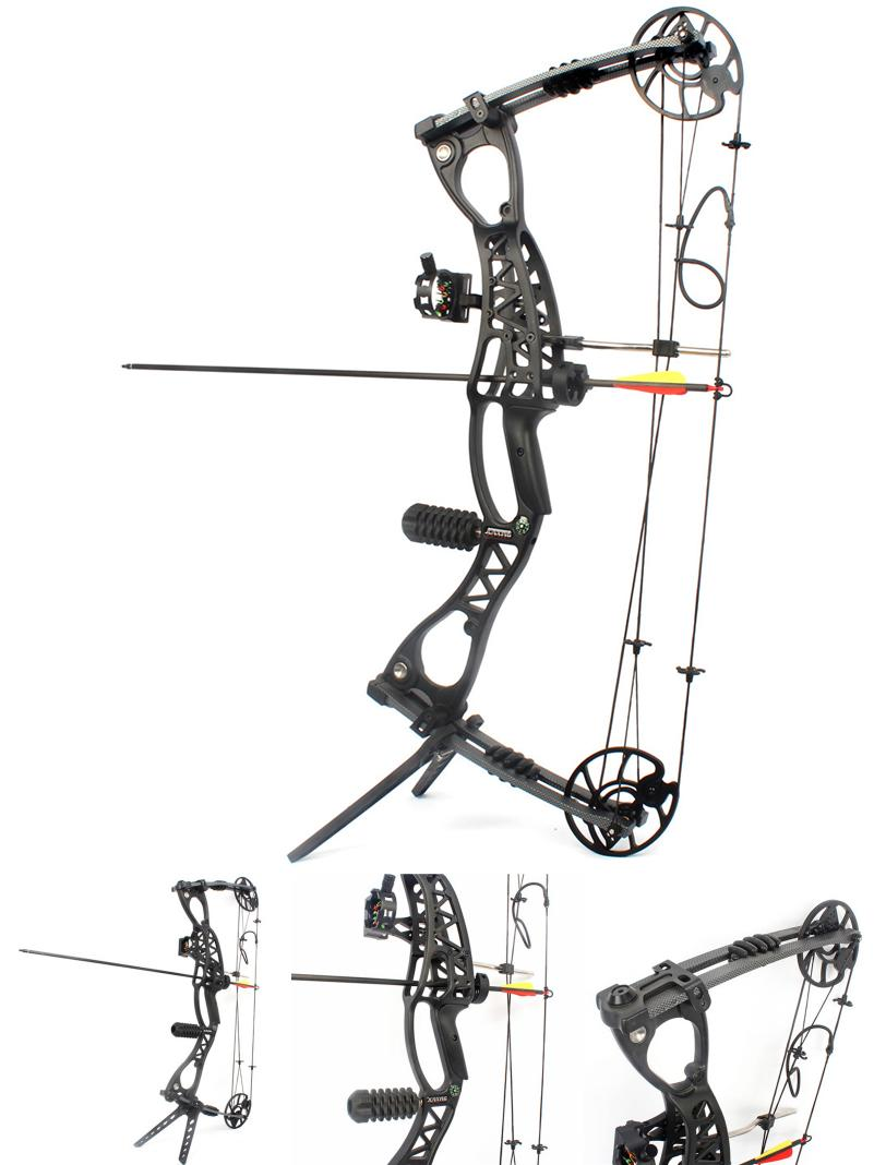 801x1068 Visit To Buy] M127 Adjustable 40 65 Lbs Compound Bow Arrow Speed