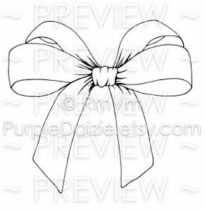 291x300 Downloadable Pretty Bow Printable Coloring Page Silk Bow Zen