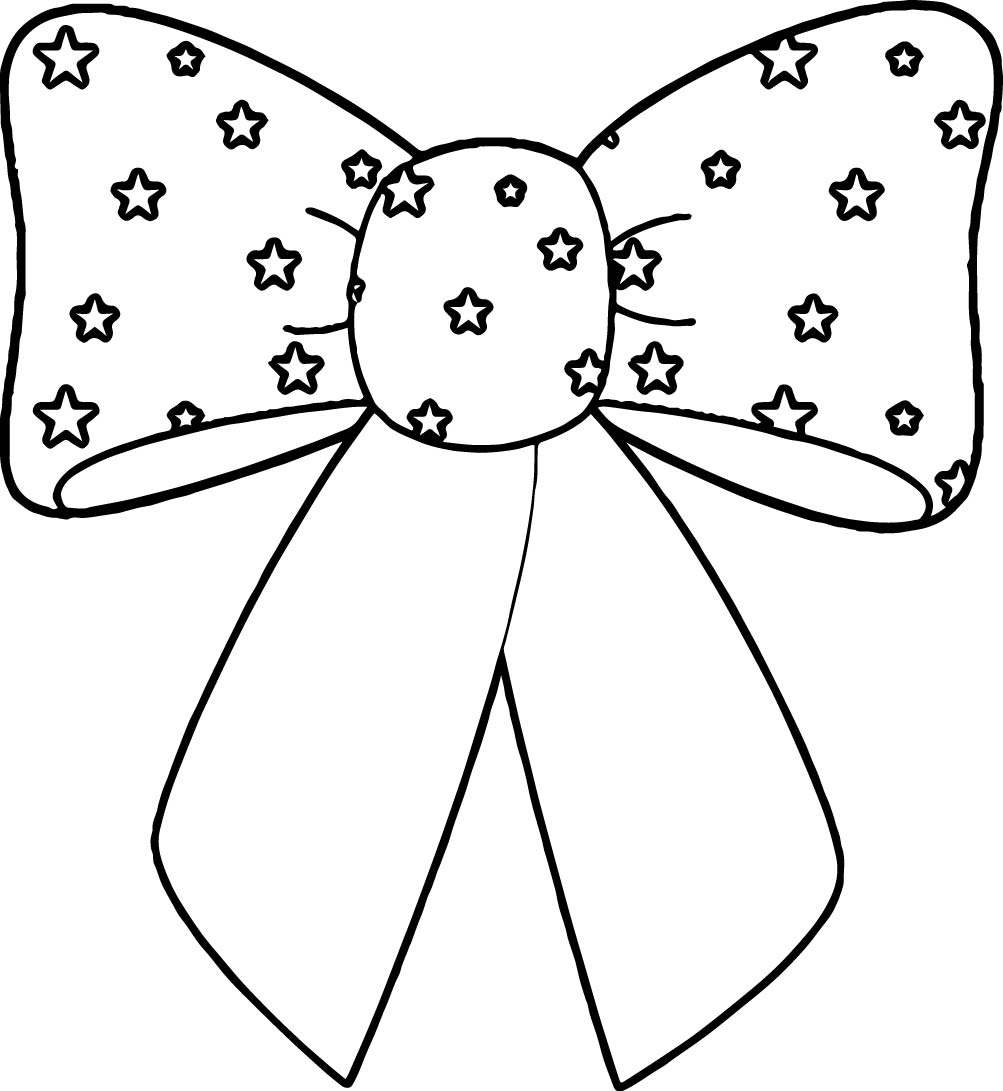 1003x1091 Bow Coloring Pages For Funny Draw Pict Coloring