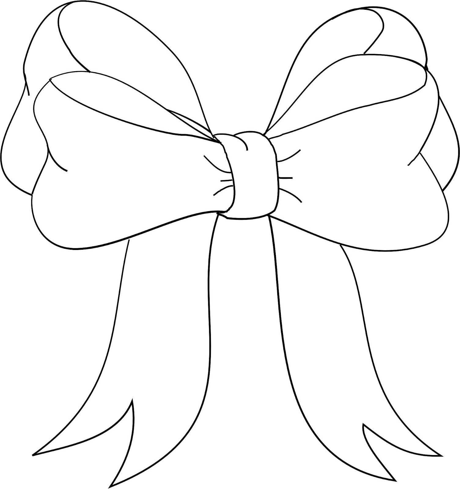 1505x1600 Bow Drawing