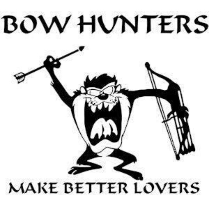 Bow Hunting Drawing