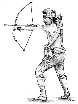 263x350 Bow Hunting Coloring Pages