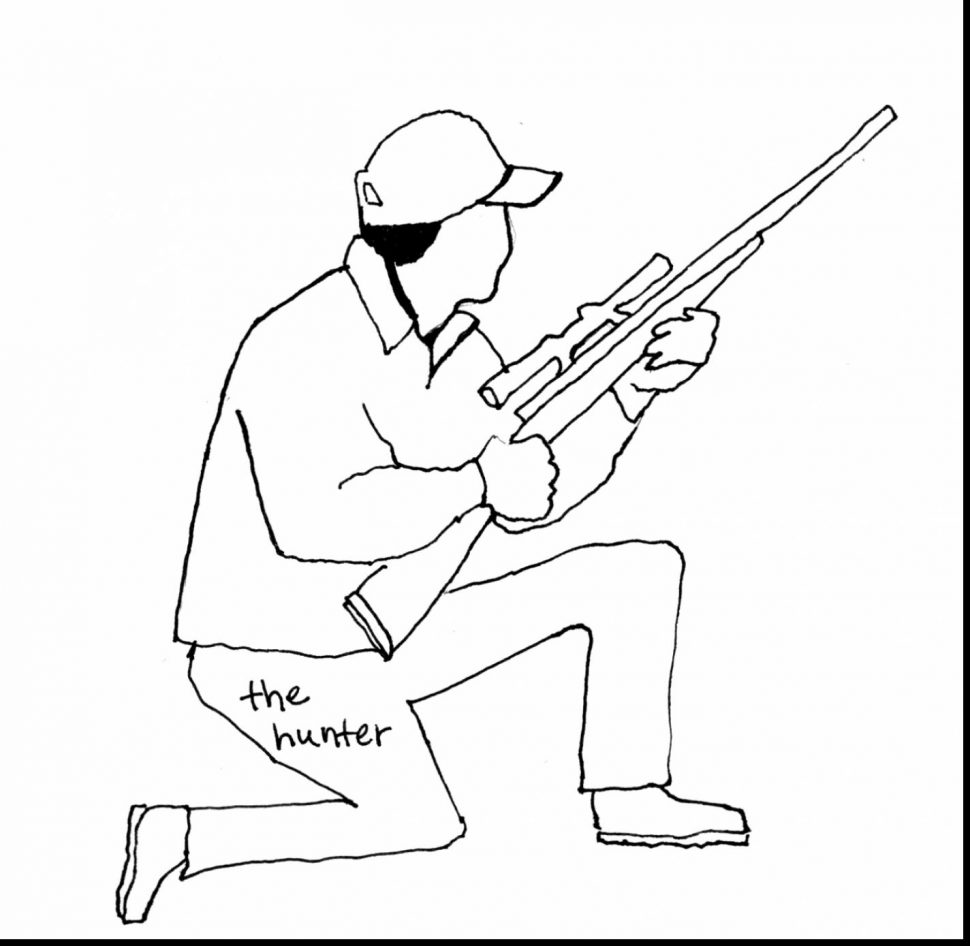 970x946 Coloring Pages Alluring Hunting Coloring Pages The Bow Hunting