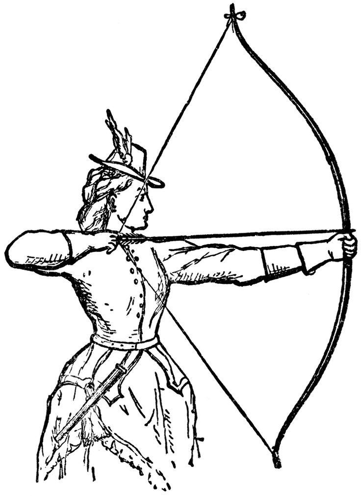 736x1010 Pildiotsingu To Draw A Woman Shooting With A Bow In Air Tulemus