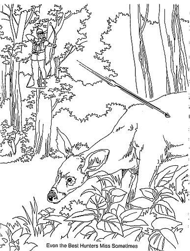 387x510 Hunter Drawings Bow Hunting Drawing2 Drawing Bow
