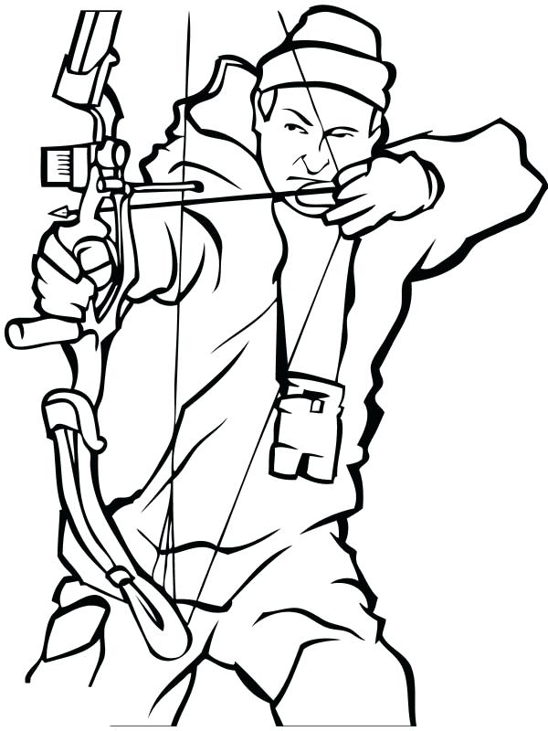 600x800 Best Of Hunting Coloring Pages Images Bow Hunting Hunter Coloring
