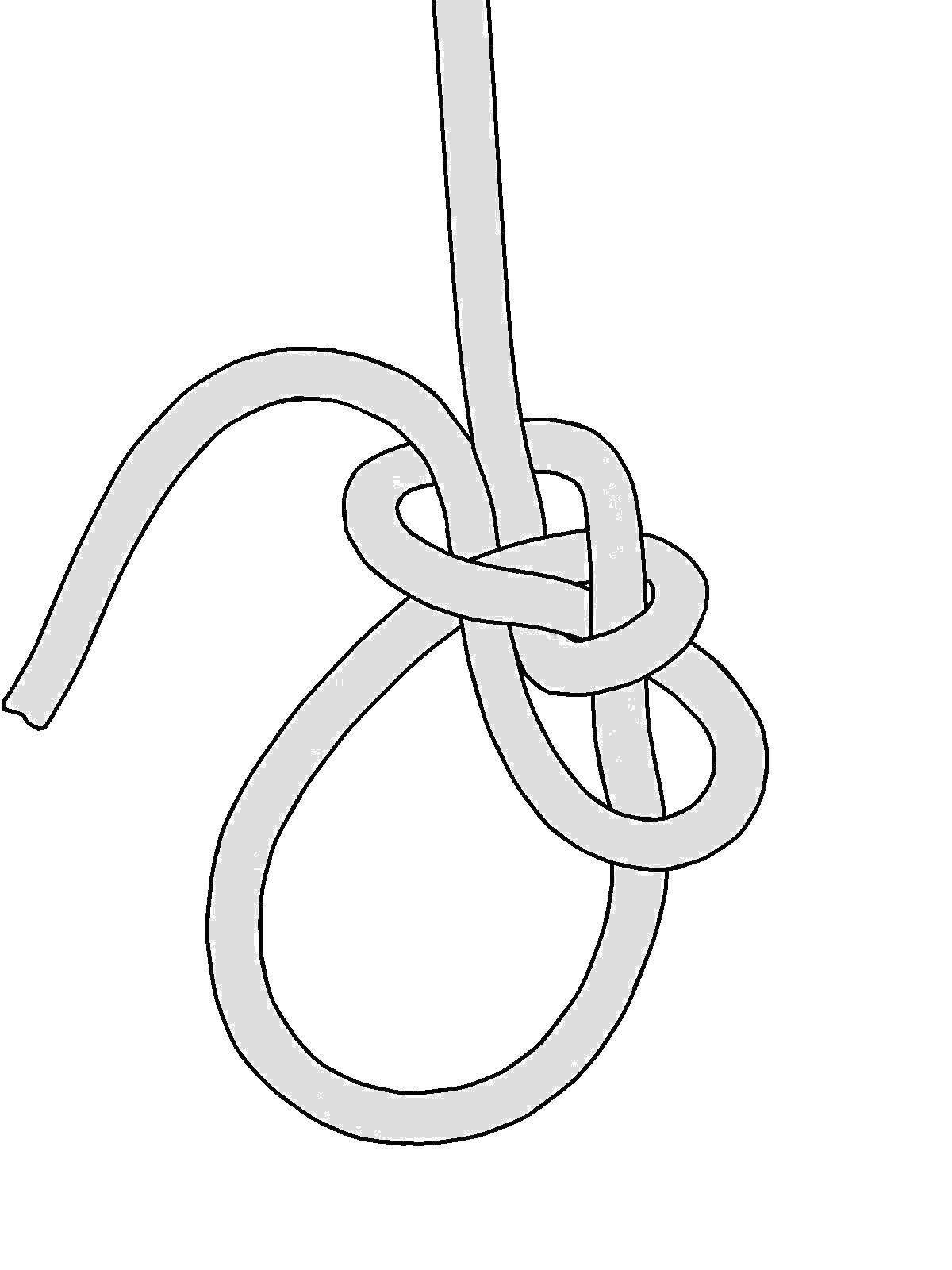 1200x1600 New Approaches With Knot Tying Bowline Made From A Slip Knot