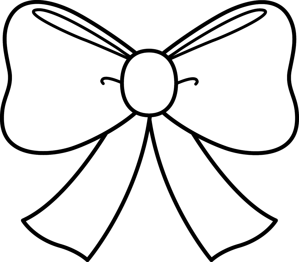 1024x897 Ribbon Coloring Pages Coloring Page For Kids