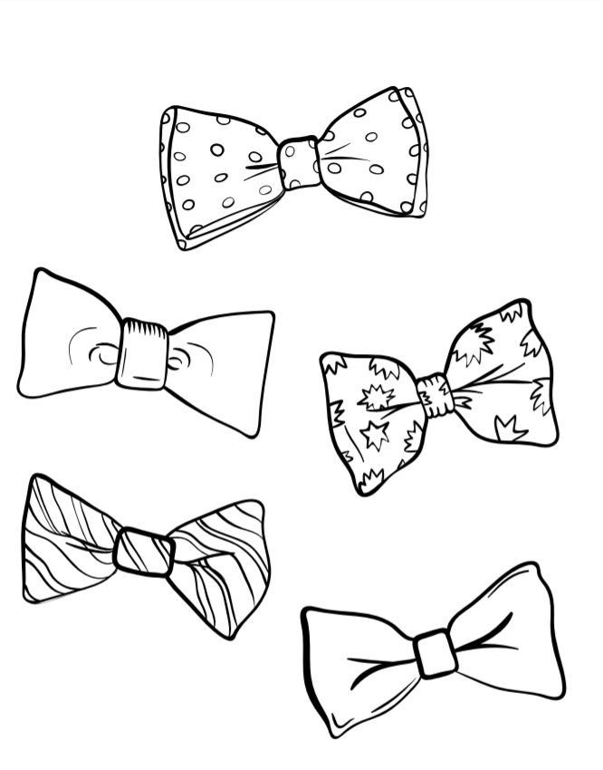 666x850 August 28 National Bow Tie Day