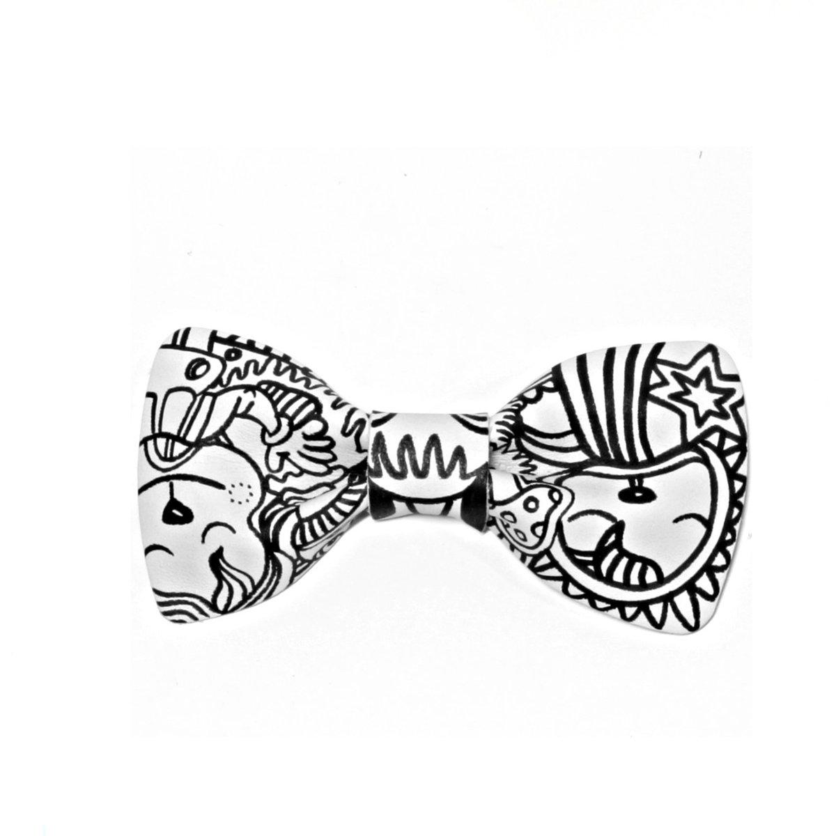 1200x1200 White Illustration Bow Tie