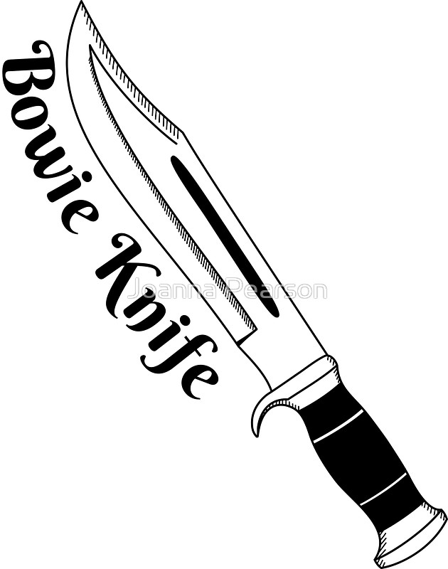 Bowie Knife Drawing at GetDrawings.com | Free for personal ... Fighting Rooster Knives