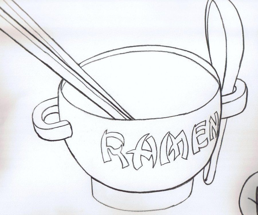 900x752 Ramen Bowl By Kabookie