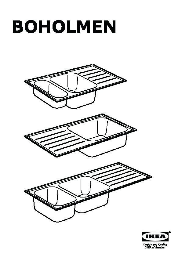 596x842 Sink Drawing 1 1 2 Bowl Insert Sink With Drainer Sink Drawing Easy