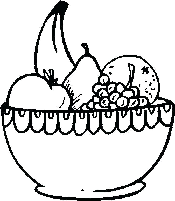 675x774 Fruit Basket Coloring Pages Fruits Basket Coloring Pages Best