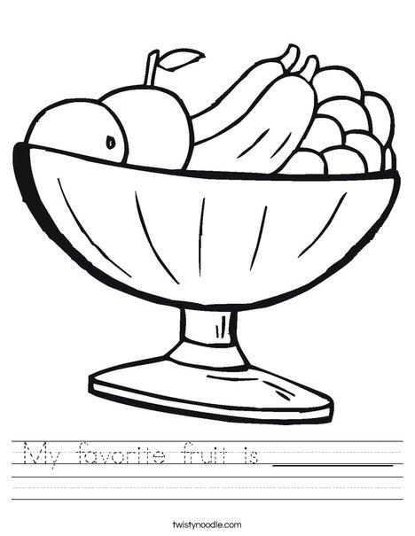 468x605 My Favorite Fruit Is Worksheet