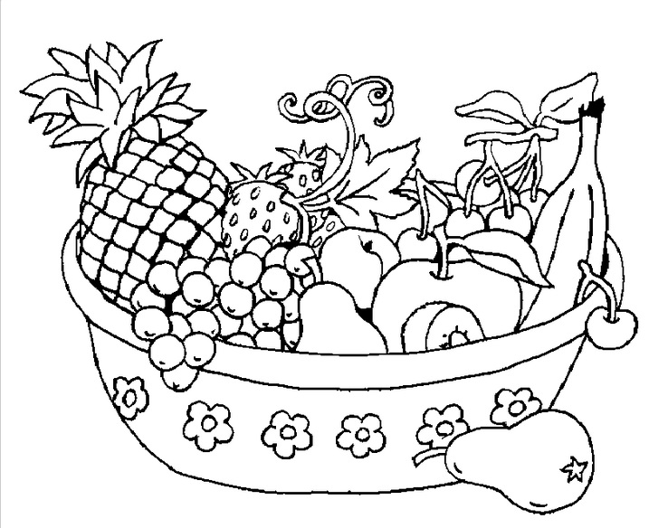 717x584 Fruits Bowl Speech Therapy Speech Therapy