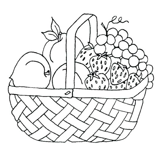540x502 Coloring Picture Of Fruits Orange Fruit Coloring Sheets Pages