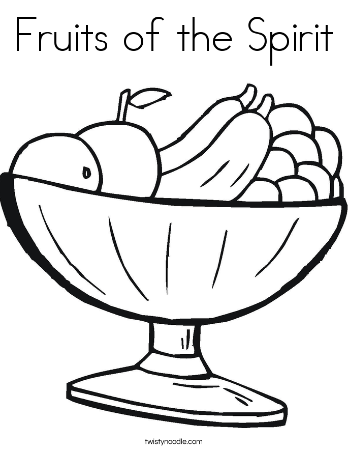 685x886 Fruits Of The Spirit Coloring Page