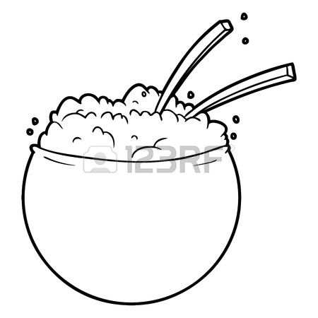 Bowl Of Rice Drawing