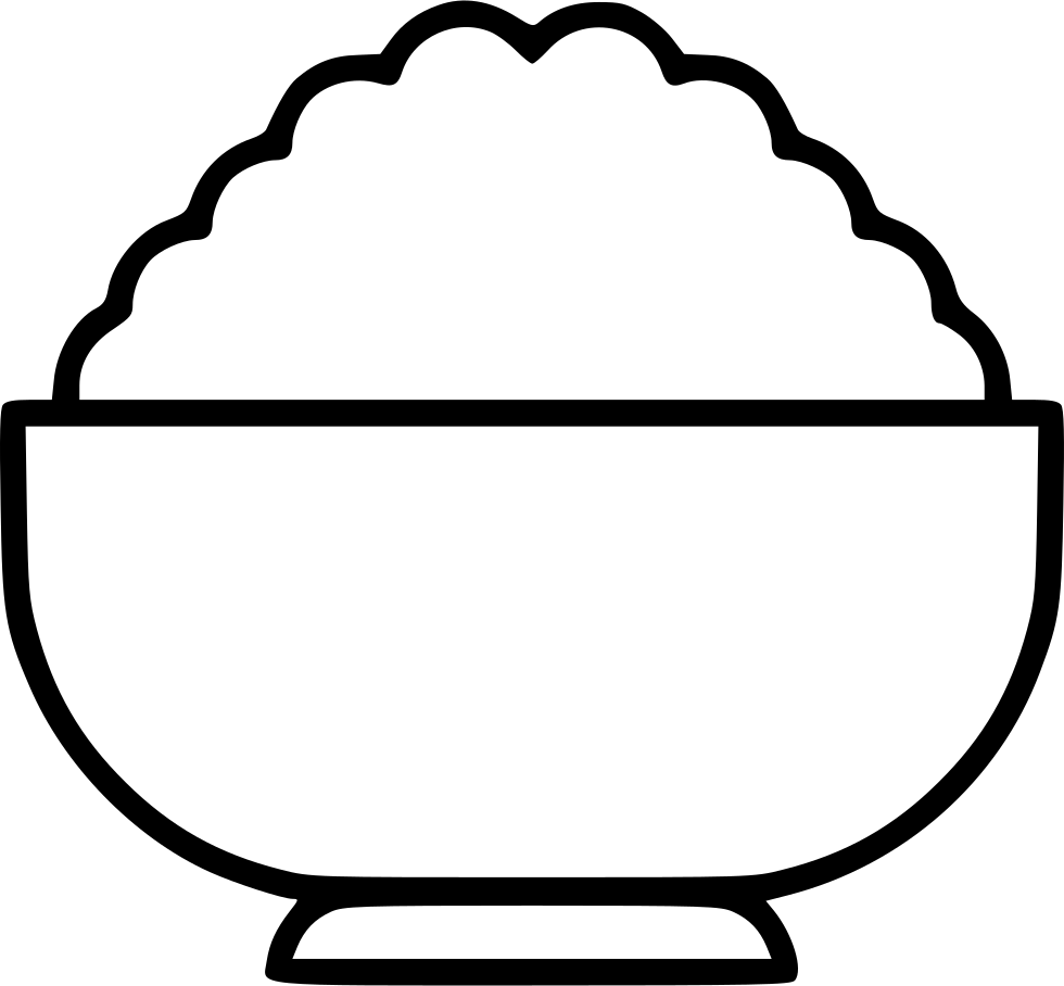 980x908 Bowl Rice Svg Png Icon Free Download ( 483582)