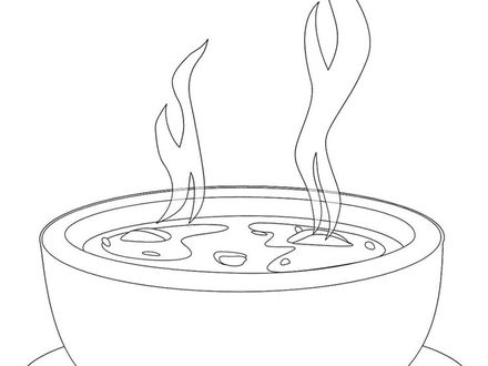 Bowl Of Soup Drawing