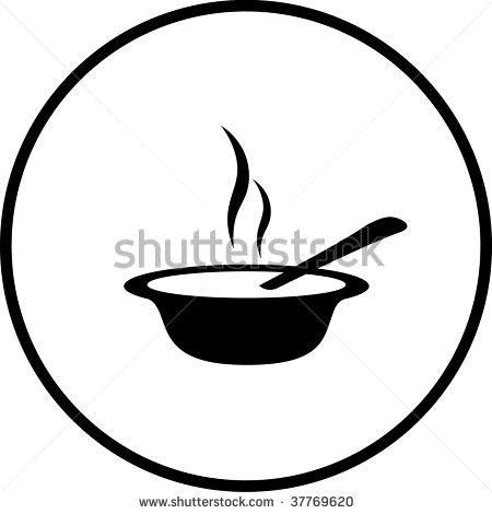 450x470 Of Porridge Silhouette Clipart