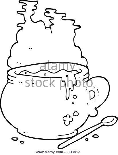 411x540 Freehand Drawn Cartoon Bowl Hot Stock Photos Amp Freehand Drawn