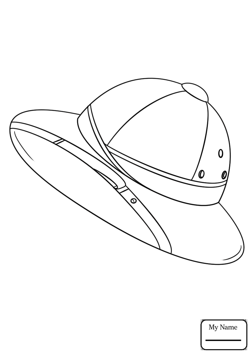 866x1224 Clothes And Shoes Bowler Hat People Coloring Pages