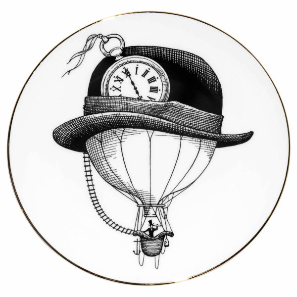 600x600 Bowler Hat Balloon Plate Kitchen Amp Dining Rory Dobner