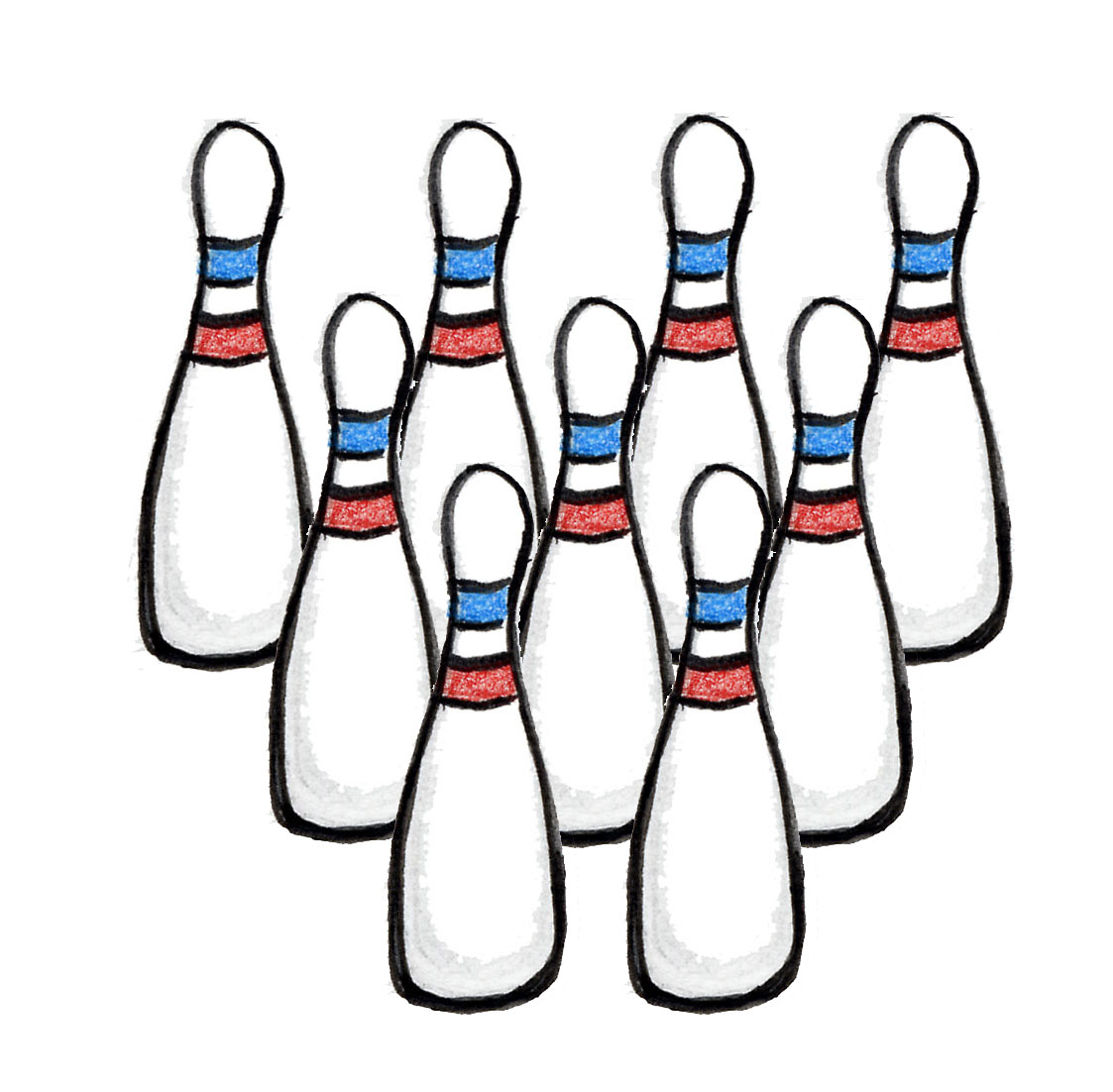 1123x1102 Bowling Clipart Skittle