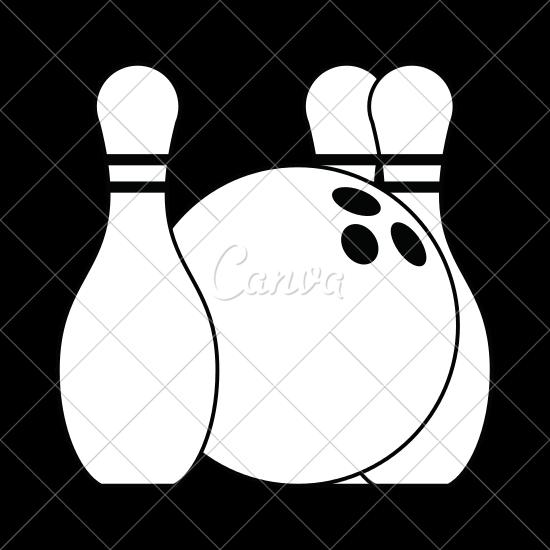 550x550 Bowling Pin Icon