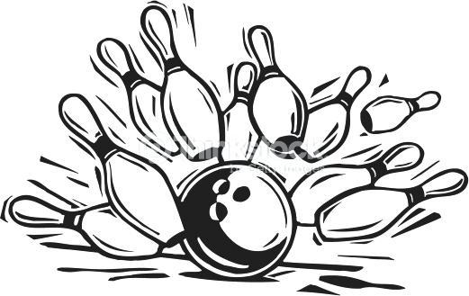 521x329 Bowling Pins Clipart Bowling Pin Illustrations And Bowling Pin