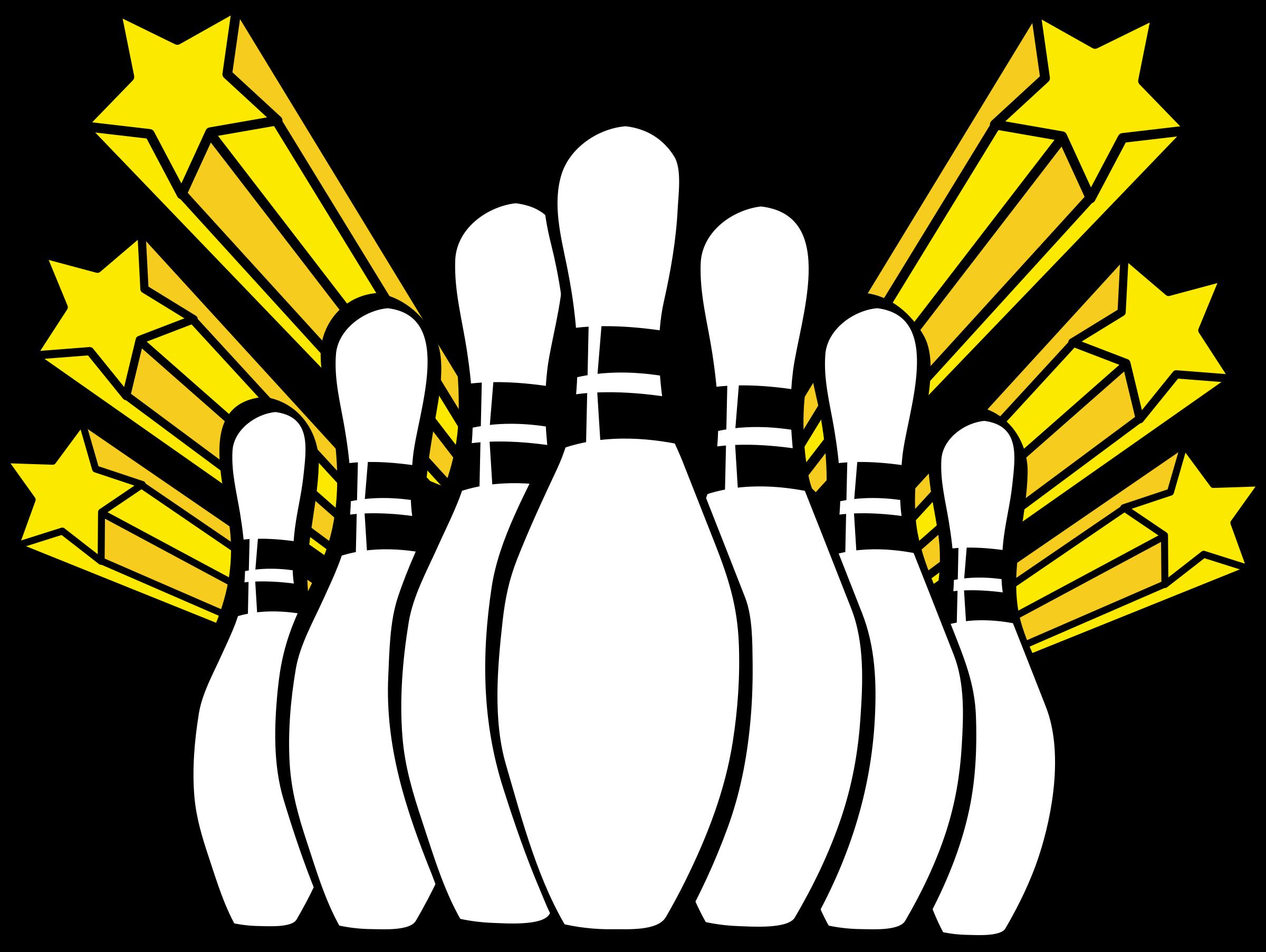 2400x1805 Retro Clipart Bowling Pin