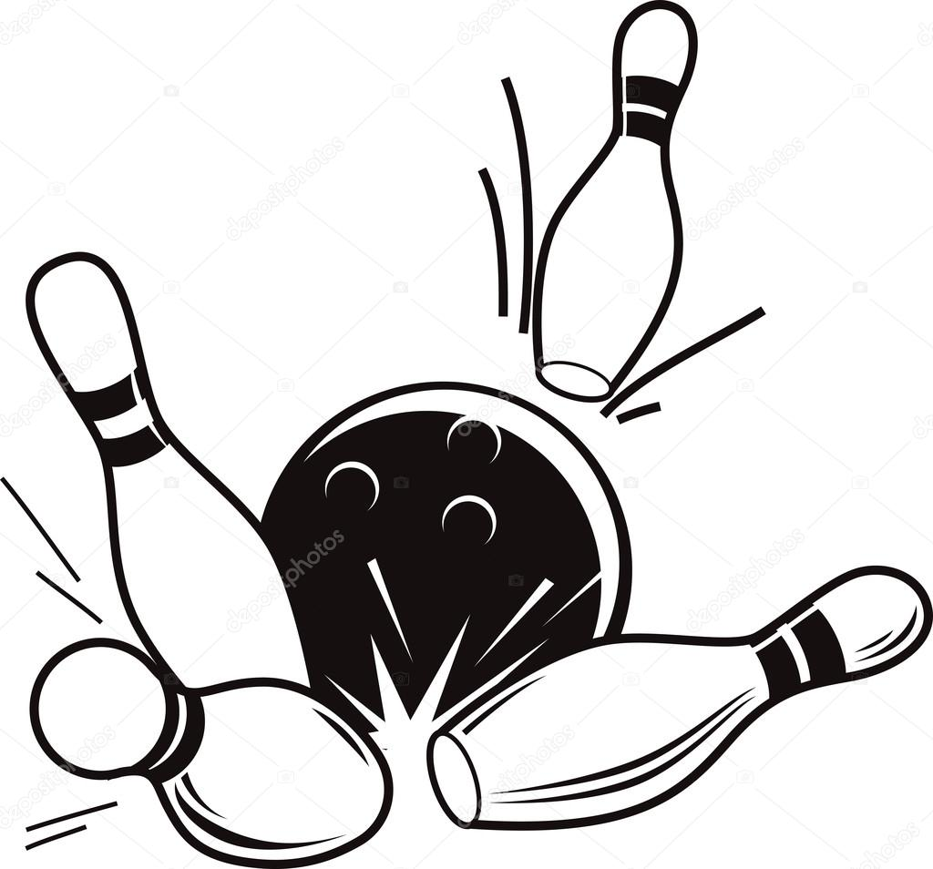 1024x954 Accessories For Bowling Stock Vector Hillway
