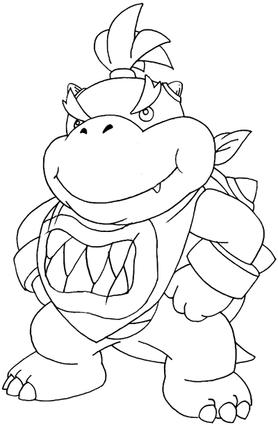 Bowser Drawing at GetDrawings.com | Free for personal use Bowser ...
