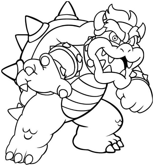 Bowser Drawing at GetDrawings | Free download