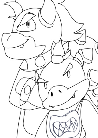 320x452 Bowser Drawings On Paigeeworld. Pictures Of Bowser